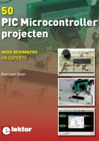 Cover of 50 PIC Microcontroller Projecten